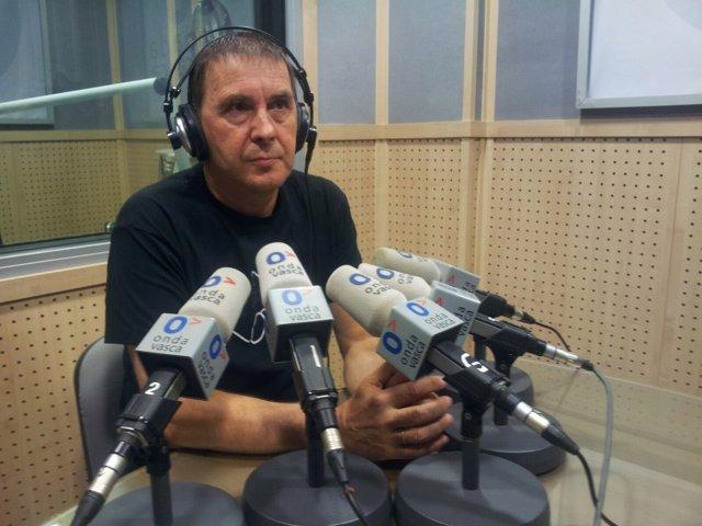 Arnaldo Otegi en Onda Vasca