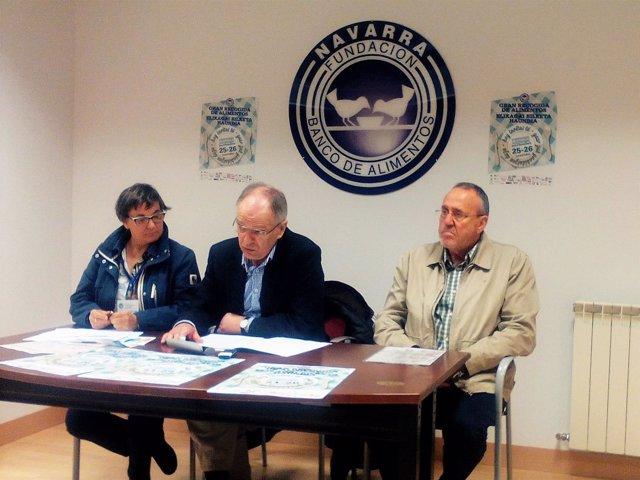 Marisol Villar, Gregorio Yoldi y Marcos Leyún.