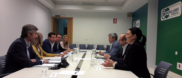 Reunión de Cooperativas con el PP Andalucía