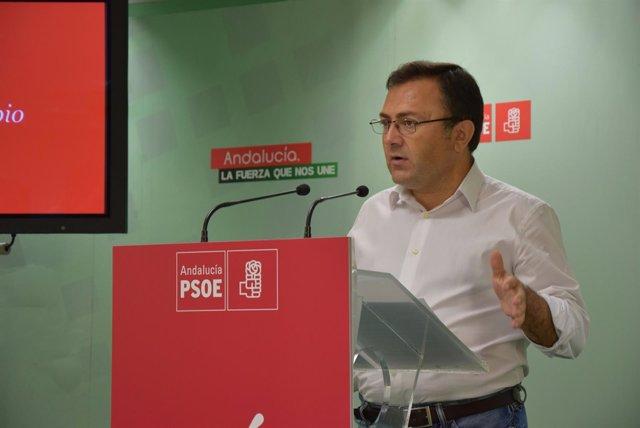 Miguel Ángel Heredia, secretario general del PSOE de Málaga