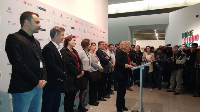 Carmena con los alcaldes del cambio