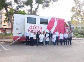 El Consell de Mallorca cede de forma gratuita el camión a la Fundación Banco de Sangre y Tejidos de Baleares