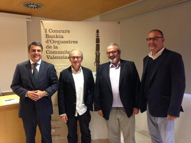 El IVC, Bankia y la Fsmcv presentan el I Concurso de Orquestas de la Comunitat