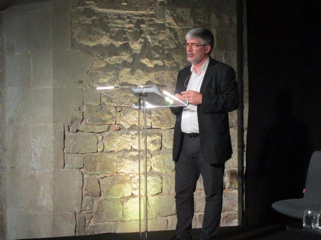 El concejal de Empresa y Turismo de Barcelona, Agustí Colom