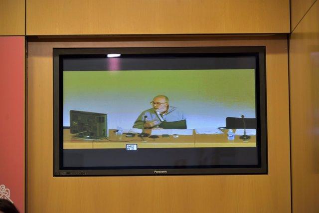 Manuel Alcaraz declara por videoconferencia en las Corts