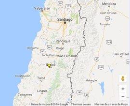 Un terremoto de 6,4 sacude Chile y se deja sentir en Santiago