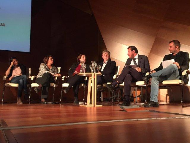 El alcalde de Valladolid, en la jornada de ayuntamientos por el agua pública