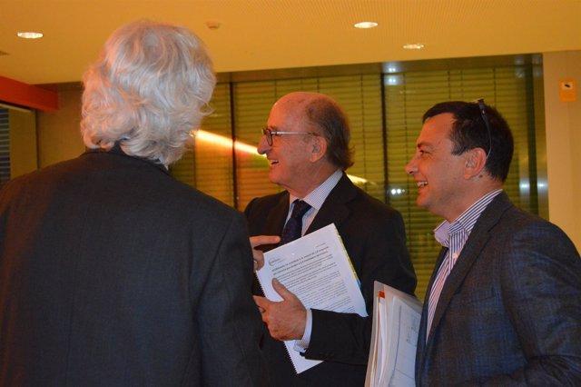 Antoni Brufau asiste al consejo general de Globalleida