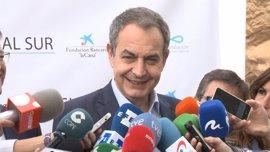 """Zapatero pronostica que los nacionalismos europeos serán """"algo temporal"""" y aboga por """"fortalecer la unidad y democracia"""""""