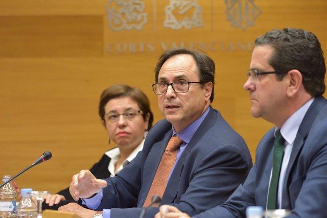 Soler durante su comparecencia en la que ha explicado los presupuetos para 2017
