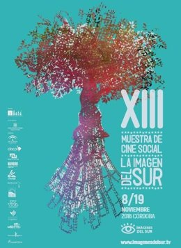 Cartel de la XIII Muestra de Cine Social La Imagen del Sur