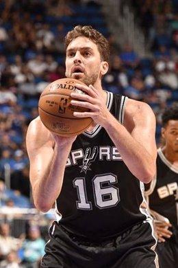 Pau Gasol San Antonio Spurs