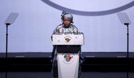 La Liga Juvenil del CNA muestra su apoyo a Dlamini-Zuma