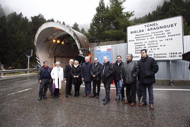 Acto central del 40º aniversario del Túnel de Bielsa