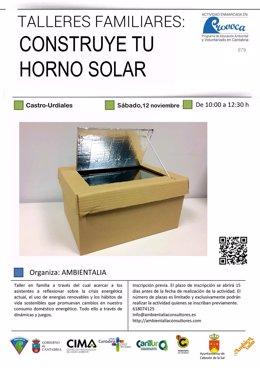 Taller de horno solar
