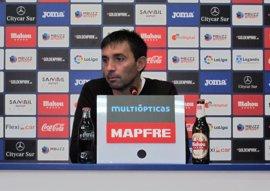"""Asier Garitano: """"El objetivo es que el Lega vuelva al Bernabéu los próximos años"""""""
