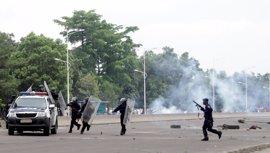 La Policía disuelve una manifestación de la oposición en República Democrática del Congo