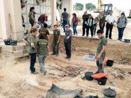 Ya se han encontrado 15 cuerpos en la exhumación de la fosa común de Porreres