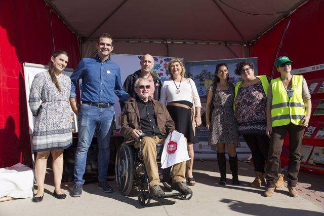 Alcalde de Almería en campaña 'Ponle Freno'