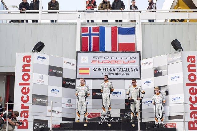 Niels Langeveld, directo a por el título en la SEAT León Eurocup