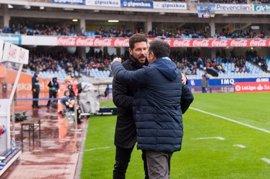 """Simeone: """"Nosotros dependemos del equipo, no de los goles de un jugador"""""""