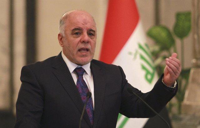 El primer ministro iraquí, Haider al Abadi