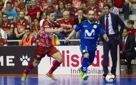ElPozo Murcia levanta el vuelo remontando a Movistar Inter en el Clásico