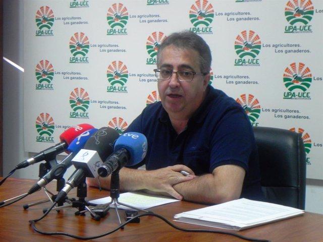 Ignacio Huertas en rueda de prensa