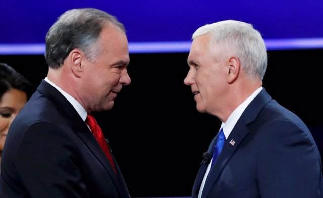 Tim Kaine y Mike Pence, candidatos a la Vicepresidencia