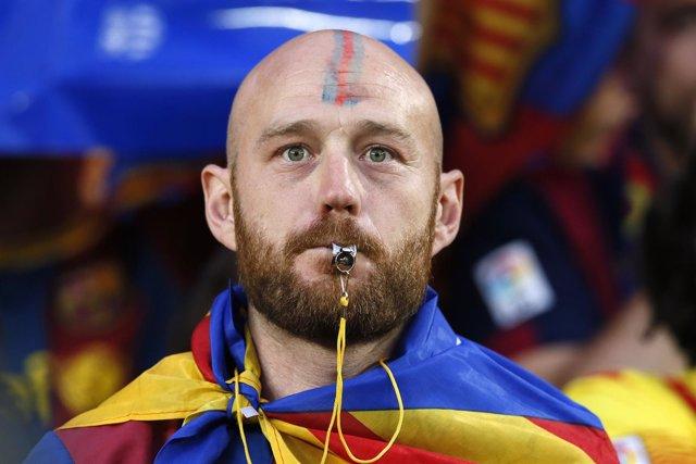 Pitada al himno de España en la final de la Copa del Rey