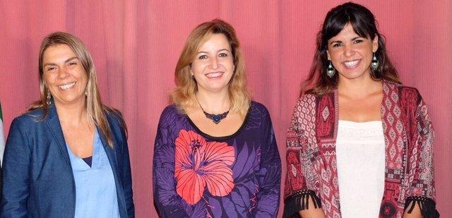 Debate de Begola Gutiérrez, Carmen Lizárraga y Teresa Rodríguez