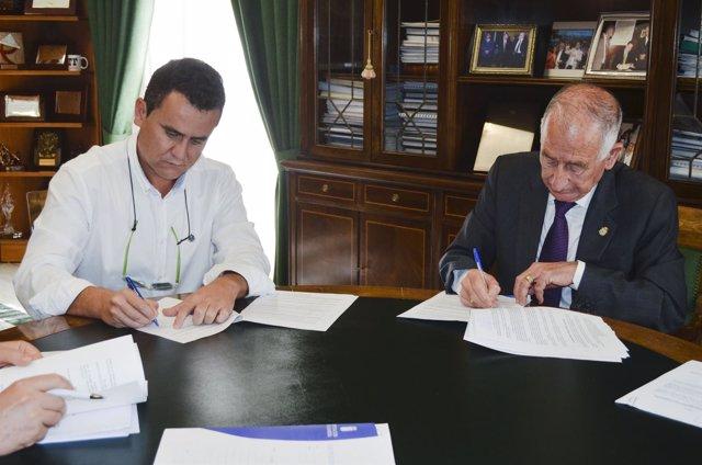Acuerdo entre la Diputación de Almería y el Ayuntamiento de Cuevas del Almanzora