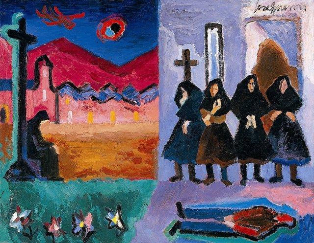 Ciclo 40 pinturas en busca de voz en el centro José Guerrero de Granada