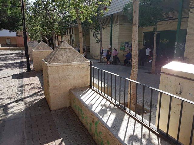 Nota Y Foto. Integración Plaza Belén Al Mercado Los Ángeles