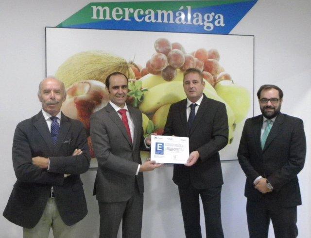 Mercamála obtiene el sello de excelencia europea 300+