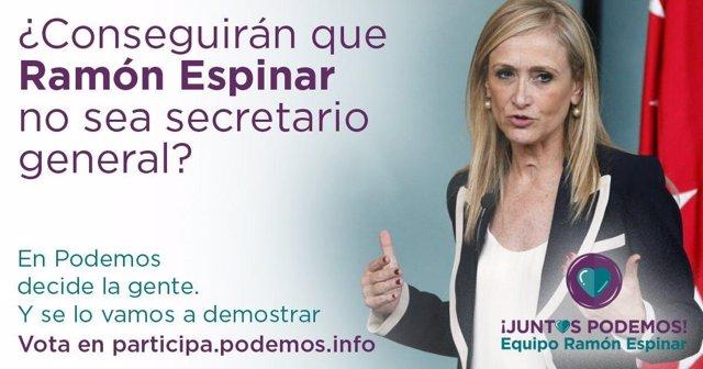 Imagen del Twitter de Juntas Podemos