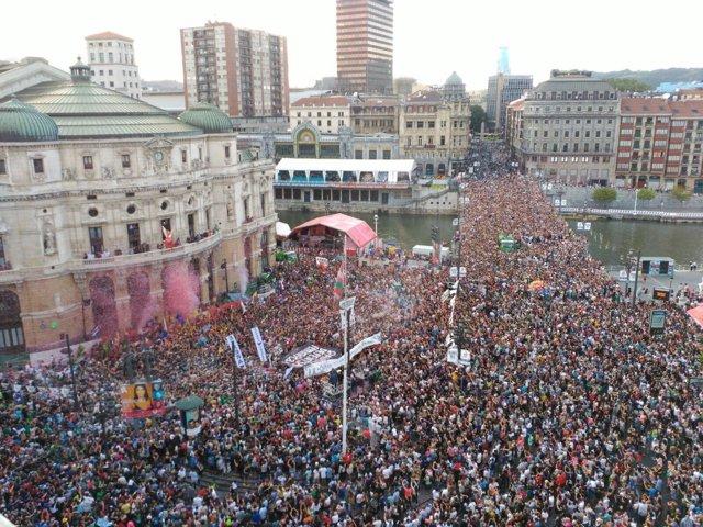 Bilbao inicia la Aste Nagusia 2016