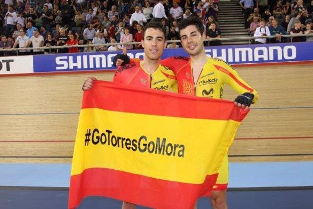Torres y Mora ponen el broche de oro a la primera prueba de Copa del Mundo