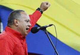 """Cabello recalca que el Gobierno """"no va a aceptar nada que esté fuera de la Constitución"""""""