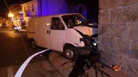 Atendidas 66 personas por 45 accidentes de tráfico registrados el fin de semana en Galicia