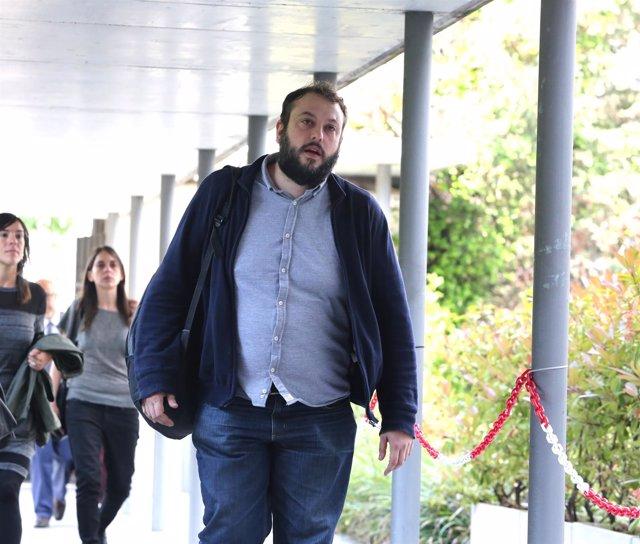El concejal de Madrid Guillermo Zapata declara por el caso del Patio Maravillas