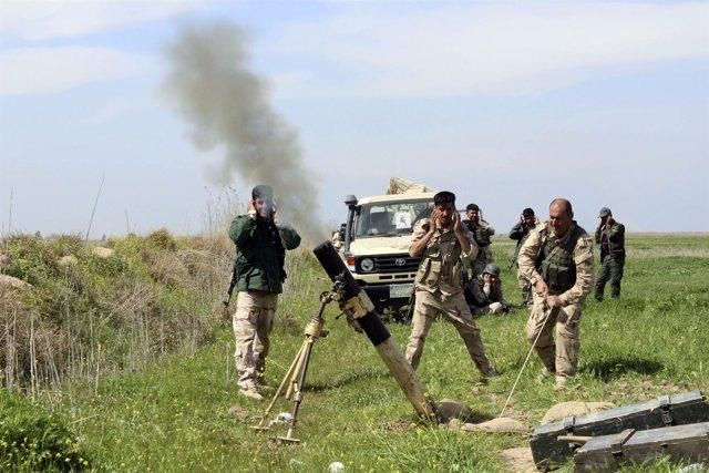 Combatientes peshmerga