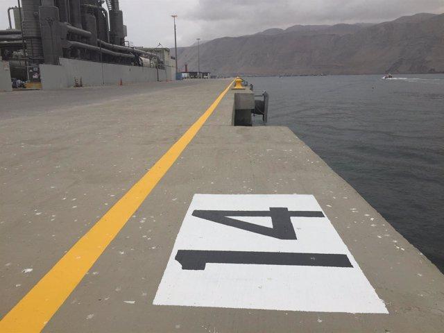 Terminal del Puerto de Iquique (Chile) reconstruida por Copisa