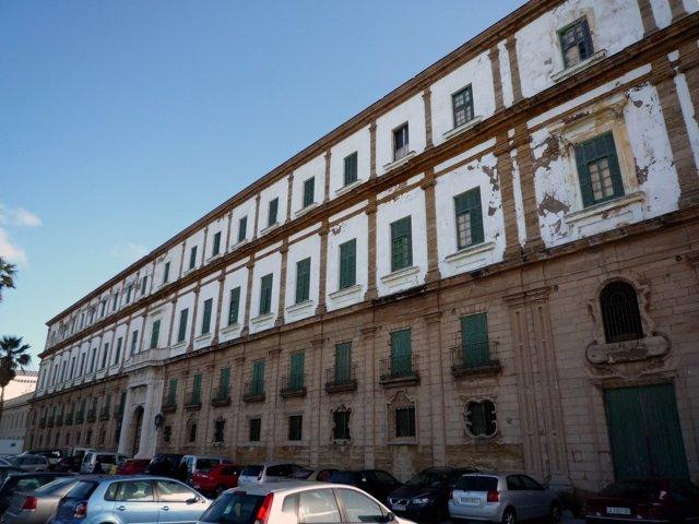 Edificio Valcárcel en Cádiz
