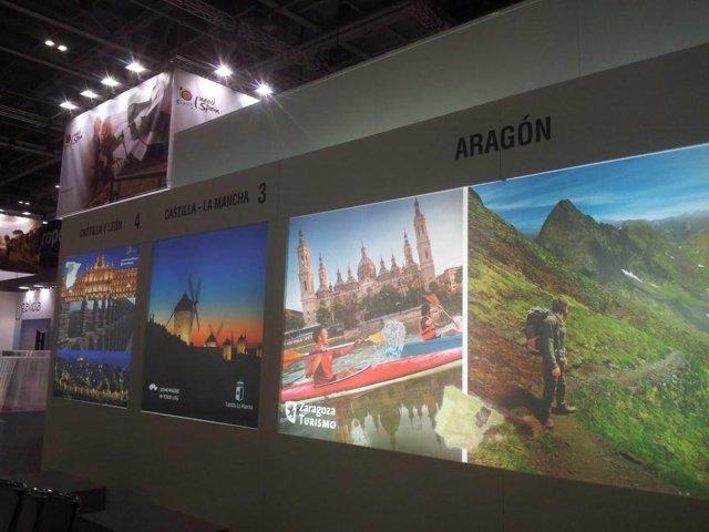 Promoción de Zaragoza y Aragón en Londres