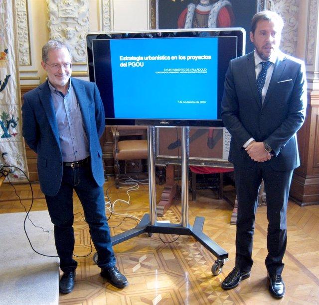 Manuel Saravia y Óscar Puente