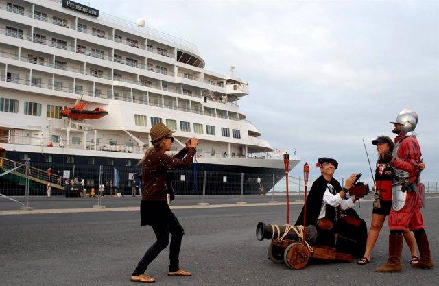 Buque de cruceros Prinsendam