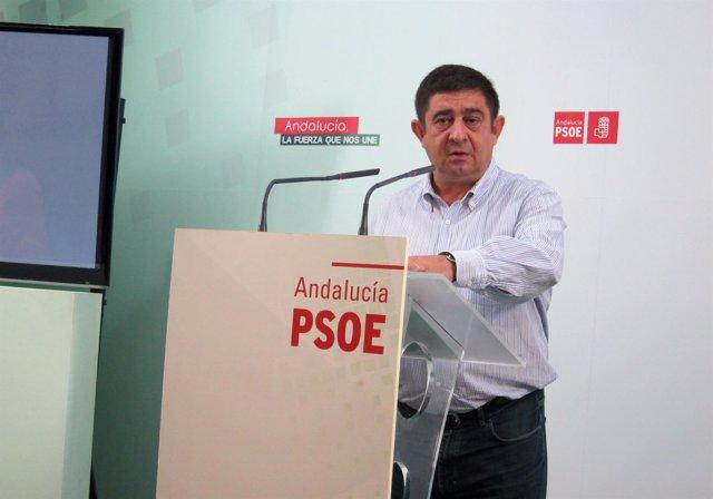 Foto de archivo del  secretario general del PSOE de Jaén, Francisco Reyes.