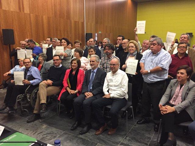 Entrega de certificados a afectados por la talidomida en Andalucía