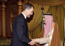El Rey Felipe viajará a Arabia Saudí entre el 12 y el 14 de noviembre